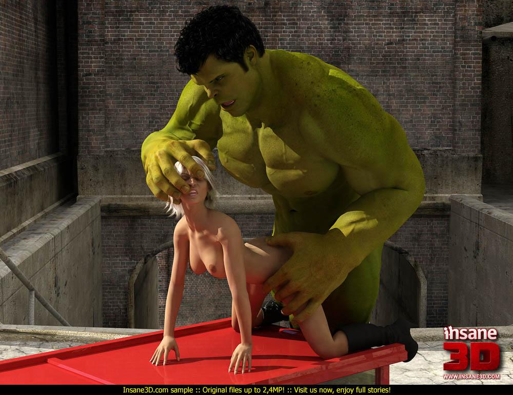 3d hard fuck hulk destroy the pussy 7
