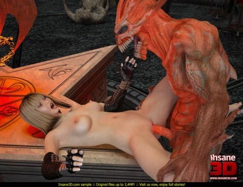 Want girl demon fuck 3d body