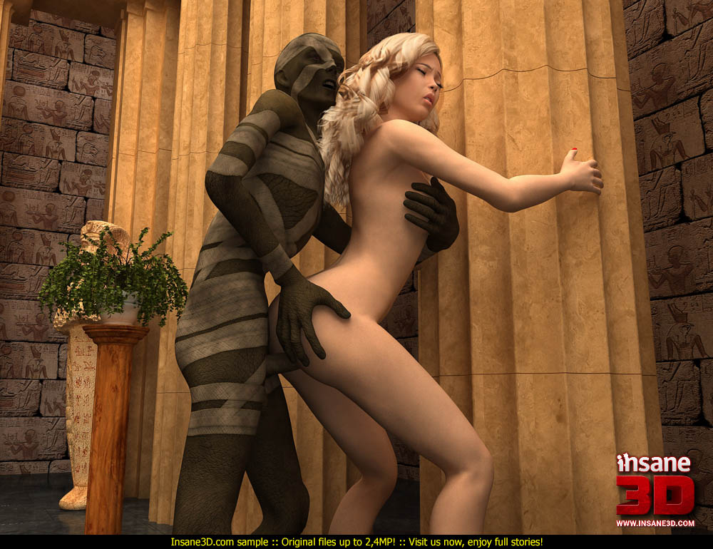 3d animated hotties get used 4