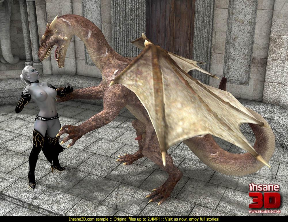 3d dragon porn