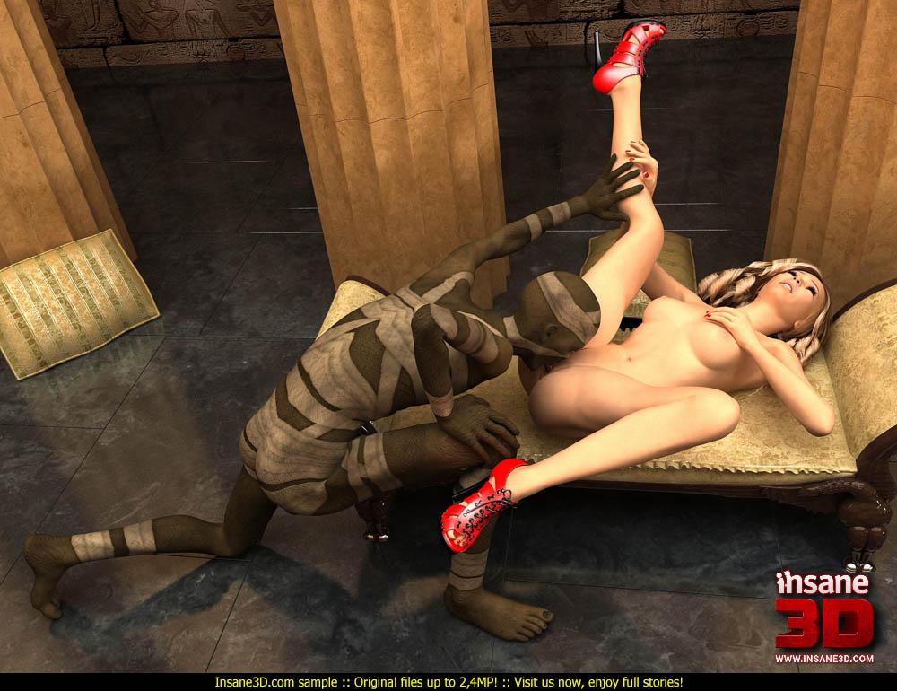 mummification porn